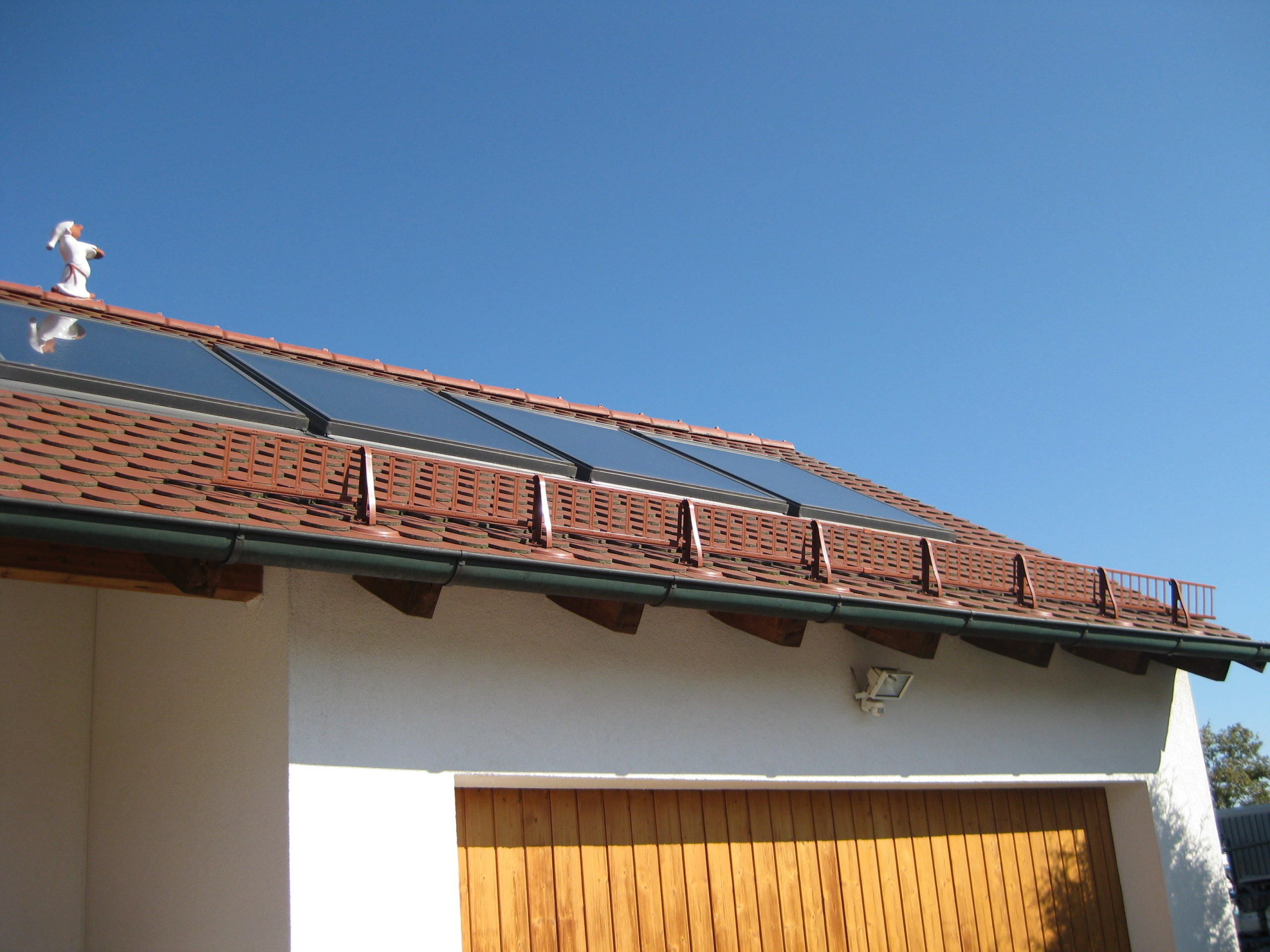 Schutz vor Dachlawinen