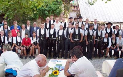Freisprechungsfeier  der Zimmererinnung Landshut im Bauzunfthaus Landshut