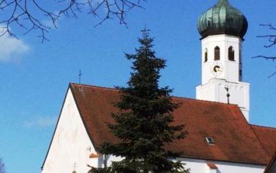 Der Kirchturm von St. Othmar in Pfettrach bekommt eine neue Treppe