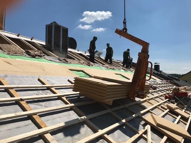 Dachflächenfenster - Einbau Zimmerei Brunnermeier