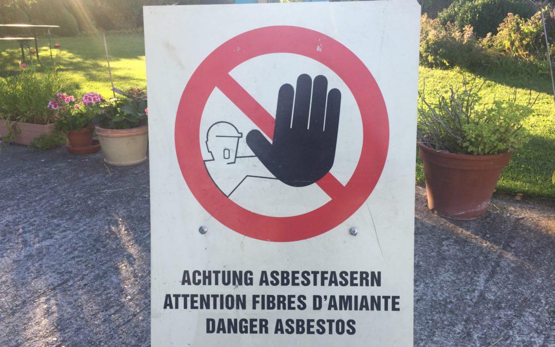 Die Entsorgung von Asbest